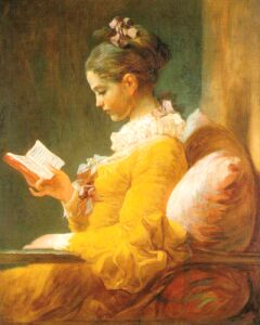 Fragonard, Portrait of a Young Girl Reading