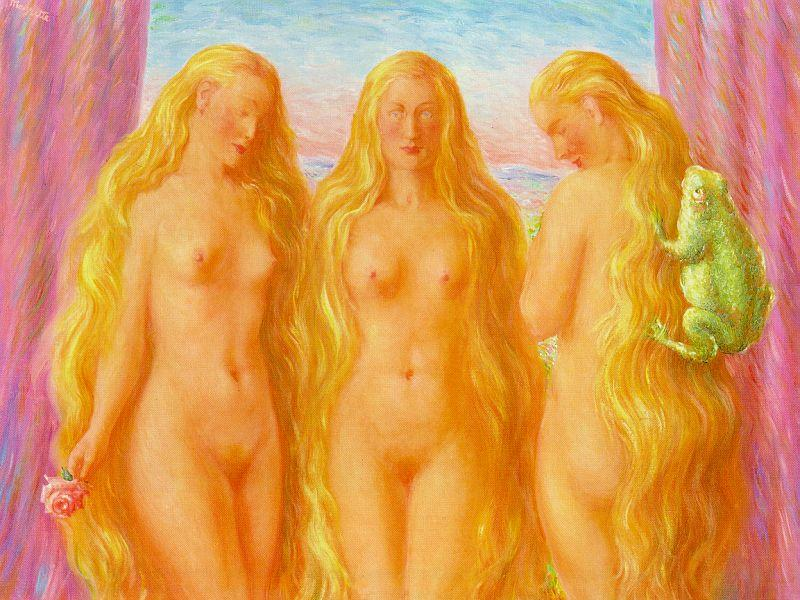 Rene Magritte, Sea of Flames, 1945