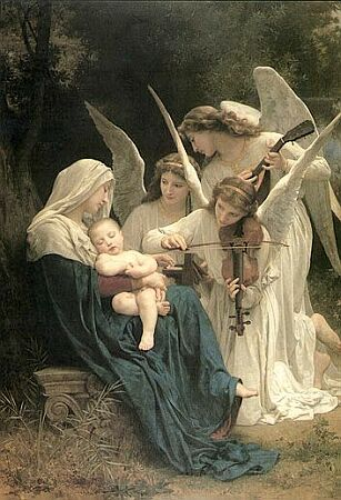 Song of the Angels, Adolphe-William Bouguereau